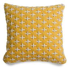 Mima Wool Pillow - Yellow Throw Pillows | Blu Dot