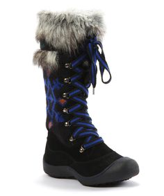 Black Gwen Tribal Snow Boot - Women   Daily deals for moms, babies and kids