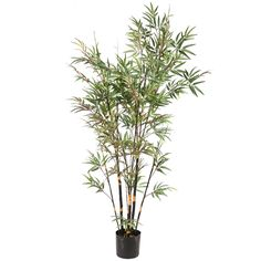 6.5' Vickerman H110670 Bamboo Trees - Green
