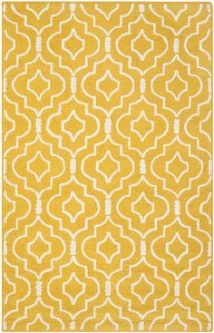Safavieh Cambridge Contemporary Indoor Area Rug Gold / Ivory