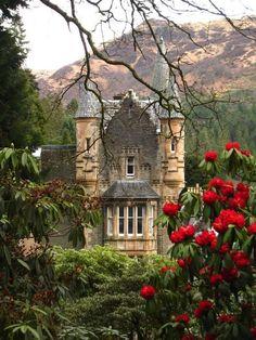 At the Royal Botanic Garden in Edinburgh, Scotland.