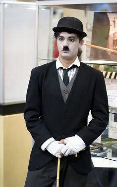 Charlie Chaplin Comic Con 2013 #SDCC #cosplay