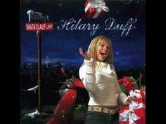 04. Hilary Duff ft. Cristina Milan- I Heard Santa on the Radio HQ + Lyrics - YouTube