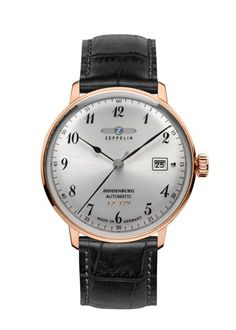 Graf Zeppelin Hindenburg Automatic Watch with Power Reserve Fine Watches, Cool Watches, Zeppelin Watch, Junghans, Affordable Watches, Luxury Watches For Men, Beautiful Watches, Vintage Handbags, Automatic Watch
