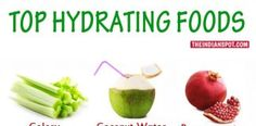 15 FOODS THAT HELP YOU STAY HYDRATED