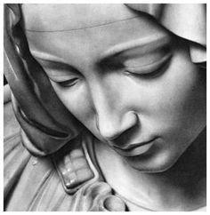 La Pietà, Michelangelo Buonarroti, 1498-1499, St. Peter's Basilica, Vatican City, Rome, Italy by LaPrimaVera