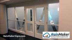 Frosted window graphics help branding and create private working space for architects at VIA Architecture. Frosted Window, Window Graphics, Retail Space, Seattle, Branding, Windows, Signs, Architecture, Projects