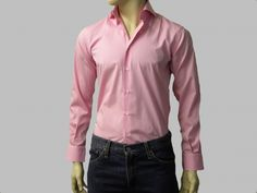 The perfect pink dress shirt for men. For both casual and formal occasion. it is an upscale choice with great attractive look. Must have it a try