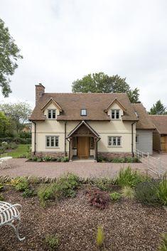 Mistletoe Cottage - Border Oak - oak framed houses, oak framed garages and structures.
