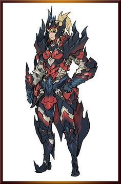 イメージ Female glavenus armor, Monste r Hunter Generations Fantasy Character Design, Character Design Inspiration, Character Concept, Character Art, Fantasy Armor, Fantasy Weapons, Medieval Fantasy, Monster Hunter Art, Armadura Medieval