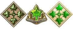 Military Insignia 3D : Insignia of the U.S. Army Infantry Divisions (Part 2)