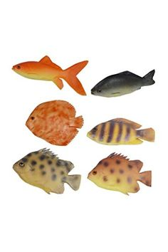 Material:PU. Size(L*W*H):As the above 6 items shows. Net. Weight: About 11g/pc. Packing: 6 pieces/opp bag. Usage:Display in The Aquarium ,Home,Kitchen,Show Case,etc.