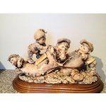 94820404 Image 1 Rare Sepia Giuseppi Armani Gullivers World Boys In Shoe