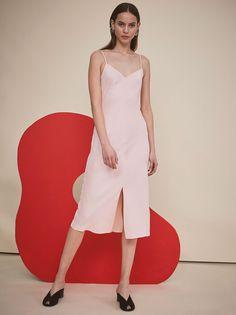 Ondine Pink Slip Cocktail Dress by KITRI Studio