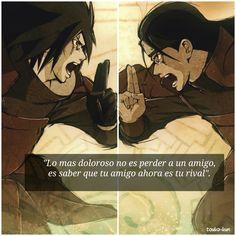 Naruto shipuden madara vs h frased anime español