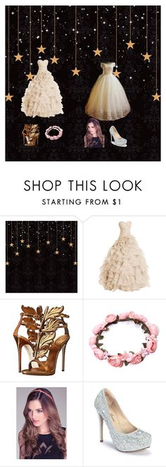 """""""prom"""" by rainbowcupcakes101 on Polyvore featuring Giuseppe Zanotti, Bebe and Lauren Lorraine"""
