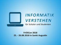 FrOSCon 2018 – 25. - 26.08.2018 in Sankt Augustin | Informatik Blog