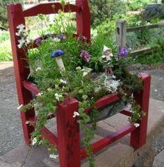 Make a fairy chair garden.