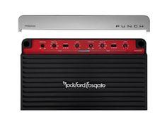 Punch 500 Watt Class D Full Range 4-Channel Amplifier [P500X4D]
