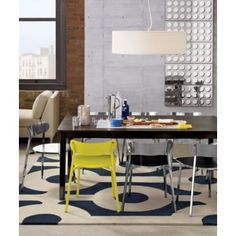 CB2 roundabout rug