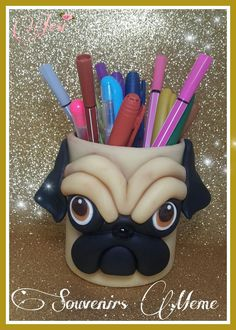 Puppet Crafts, Clay Crafts, Diy And Crafts, Mothers Day Flower Pot, Mothers Day Crafts, Polymer Clay Pens, Pot A Crayon, Flower Pot Crafts, Clay Mugs