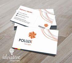 Cartão de Visitas Pollux