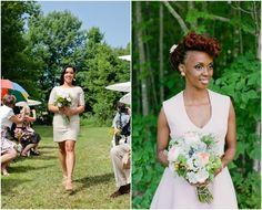 Rustic Casual Bridesmaids