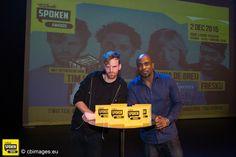 Van Dale SPOKEN Awards 2015 in het Oude Luxor Theater Rotterdam