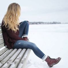 how-to-rock-the-maroon-boots- How to rock the maroon boots http://www.justtrendygirls.com/how-to-rock-the-maroon-boots/