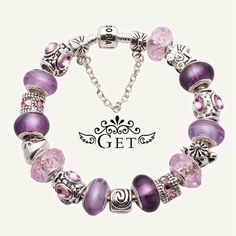 I love bracelets.  Wish I could wear them at work.  :(