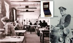 Royal Navy officer who got Enigma machine from German U-Boat has died Enigma Machine, Royal Navy Officer, Flu Epidemic, Bletchley Park, Senior Services, Alan Turing, World War Two, Wwii, German