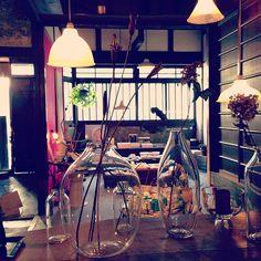 SOL, where I draw more inspiration.  #kyoto #cafe #interior #deco