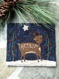 Hooked by MyGloryStars pattern by Star Rug Company