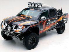 2005 Nissan Frontier Monter Energy Khaos Race Truck