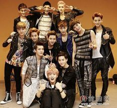 EXO-M won Most Popular Group Award at the Top Chinese Music Awards. EXO-K also attended the awards and presented a great performance. Baekhyun, Luhan Exo, Tao Exo, Exo Chen, Park Chanyeol, Kris Wu, Exo Group Photo, Kai, Exo Facts