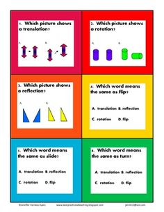 Geometry activities, Geometry and Vocabulary on Pinterest