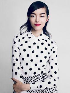 Sasha Pivovarova, Fei Fei Sun, Anais Mali by Patrick Demarchelier for Vogue US February 2014 1