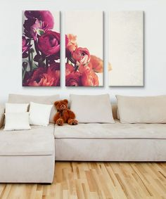Lovely Day Gallery-Wrapped Canvas Triptych