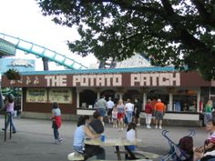 Potato Patch fries at Kennywood Park, Pittsburgh PA