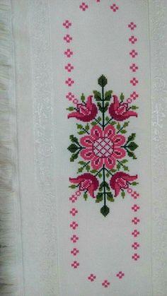 The most beautiful cross-stitch pattern - Knitting, Crochet Love Cross Stitch Letters, Cross Stitch Bookmarks, Cross Stitch Borders, Cross Stitch Samplers, Modern Cross Stitch, Cross Stitch Flowers, Cross Stitching, Cross Stitch Embroidery, Hand Embroidery