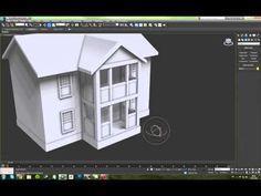 3ds Max 2012 - House Modeling - YouTube