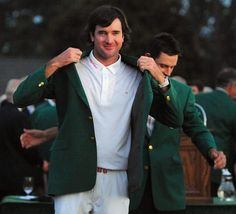 Congrats Bubba Watson on your second green jacket!!!
