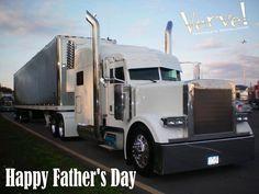 Happy Father's Day!  #Truckers #Trucker #Trucking #HealthyTruckers
