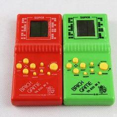 Cheap Clásico Tetris Juego Juguetes Electrónicos Diversión Juego Del Ladrillo de Mano LCD Enigma de Mano Consola de Juegos, Compro Calidad Reproductores de Juegos portátiles directamente de los surtidores de China: Clásico Tetris Juego Juguetes Electrónicos Diversión Juego Del Ladrillo de Mano LCD Enigma de Mano Consola de Juegos