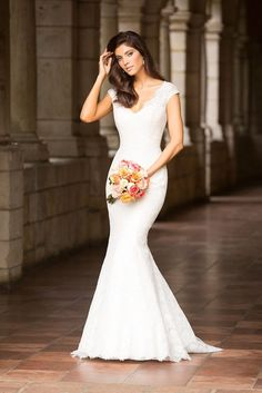 Allure Romance Collection dress #2751 (ivory)