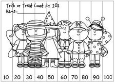 Freebie for Counting to 100 by Tens