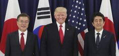 U.S. President Donald Trump and the leaders of Japan and South Korea took a united stand against the Kim Jong Un regime at the G20 summit…