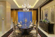 Raffles Dubai Hotel In-Room Dining http://ilovedubai.co/ #hotel #dubai #travel