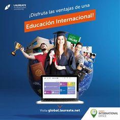 El portal de Oportunidades Internacionales de #Laureate te ofrece muchos beneficios. Entra a: http://global.laureate.net/