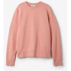 Acne Studios | Casey Crewneck Sweatshirt - Pastel Pink | #4 My ...